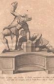 Italiensk Skulptur - Giocatori del saccomazzone - Spel - Giardino di Boboli - Florens (Romolo del Tadda)