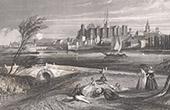 Castle of Angers (Maine-et-Loire - France)