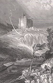 Bouzols Castle - Arsac-en-Velay (Haute-Loire - France)