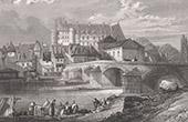 Chabannes Castle - La Palice in Lapalisse (Allier - France)