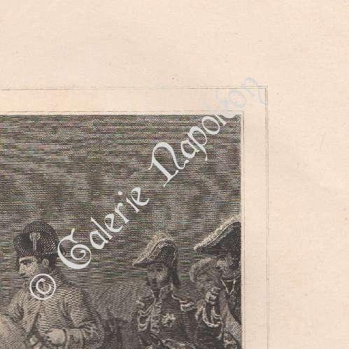 gravures anciennes napol on campagne de france 6 me coalition exil l 39 le d 39 elbe 1814. Black Bedroom Furniture Sets. Home Design Ideas