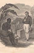 Napol�on et l'Esclave noir (Desenne - Lefevre)