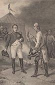 Napoleão e Francisco I Imperador da Áustria