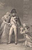 Napol�on et Madame de Grand Champ (1812)