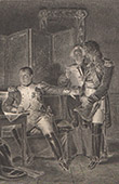 Napol�on et le Duc de Bassano - Hugues-Bernard Maret (1809)