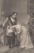 Napoleon Receives the Countess of Hatzfeld