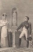 Napoleon and Duchess of Weimar