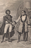 Napoleon and Marshal Victor, Duke of Bellune (1808)