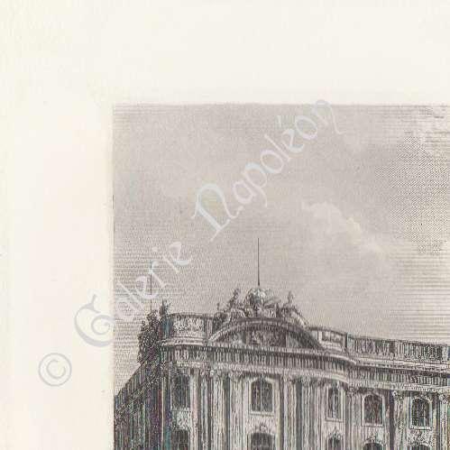 gravures anciennes vue de toulouse capitole donjon tour des archives midi pyr n es. Black Bedroom Furniture Sets. Home Design Ideas