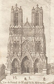 Cathedral of Reims - Portail (Marne - France)
