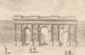 Monument Romain - Porte de Mars - Arc de triomphe - Reims (Marne - France)
