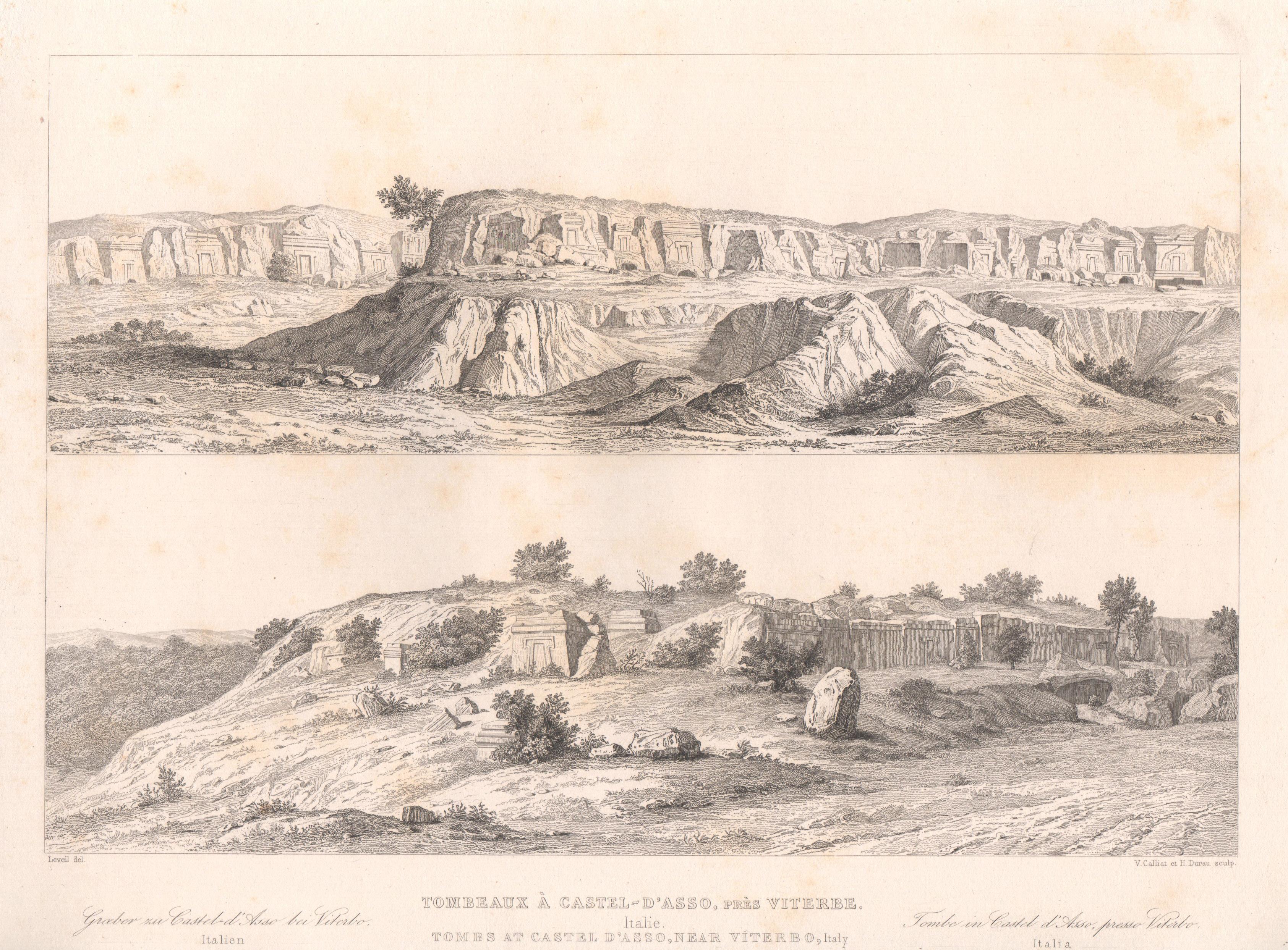 Italy - Antique Monuments - Castel d'Asso's Necropolis - Viterbo - Lazio