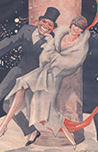 La Vie Parisienne - The Parisian Life - Golden Twenties - Art Deco - Eroticism - Le Th��tre a Repris ses Droits