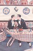 La Vie Parisienne - The Parisian Life - Golden Twenties - Art Deco - Eroticism - Honny Soit Qui Mal y Pense
