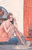 La Vie Parisienne - The Parisian Life - Golden Twenties - Art Deco - Eroticism - Un Toutou Qui ne se Coiffe pas � la Chien
