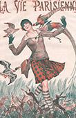 La Vie Parisienne - The Parisian Life - Golden Twenties - Art Deco - Eroticism - Hunting - Je Ne Sais Pas si Chez Vous Il y a du Gibier Mais Chez Nous Il y en a Trop