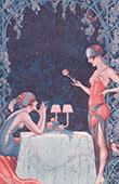 La Vie Parisienne - The Parisian Life - Golden Twenties - Art Deco - Eroticism - La Premi�re Dinette au Bois