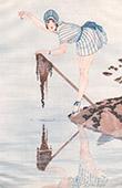 La Vie Parisienne - The Parisian Life - Golden Twenties - Art Deco - Eroticism - Fishing - La P�che Miraculeuse