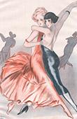 La Vie Parisienne - The Parisian Life - Golden Twenties - Art Deco - Eroticism - Dance - A Quoi Pensent les Jeunes Filles