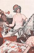 La Vie Parisienne - The Parisian Life - Golden Twenties - Art Deco - Eroticism - Les Emotions du D�part