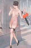 La Vie Parisienne - The Parisian Life - Golden Twenties - Art Deco - Eroticism - Quand On n'a Pas de T�te Il Faut Avoir des Jambes