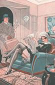 La Vie Parisienne - The Parisian Life - Golden Twenties - Art Deco - Eroticism - La Rentr�e - Chaque Saison a Ses Plaisirs