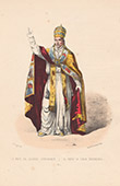 Court Dresses of Rome - The Pope (Italy)