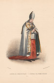 Court Dresses of Rome - Cardinal (Italy)