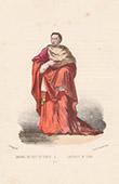 Court Dresses of Rome - Cardinal - Choir (Italy)