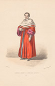 Court Dresses of Rome - Papal chamberlain (Italy)