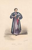Court Dresses of Rome - Caudataire (Italy)