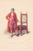 Court Dresses of Rome - Gestatorial Chair (Italy)