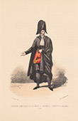 Court Dresses of Rome - Cardinals' attendant (Italy)