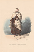 Court Dresses of Rome - Order of Discalced Carmelites (Italy)
