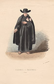 Court Dresses of Rome - Religious order - Passionist (Italy)