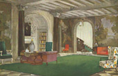 Interior Architecture - Cottage's Vestibule (A. Dietterle)