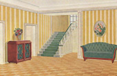 Interior Architecture - Cottage's Vestibule (F. Puetz)