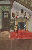 Interior Architecture - Hearth in a Vestibule (C. M�ller)