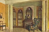 Interior Architecture - Salon in a Club (Bruno E. Scherz)