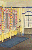 Interior Architecture - Bedroom for Children (B. Fech)