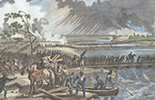 Napoleonic Wars - Campaign in Germany and Austria (1809) - Crossing of the Danube - Bridge of Lobau