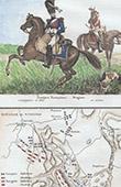 Troupe Fran�aise - Dragons - Ancienne carte - Bataille de Vimeiro (1808)