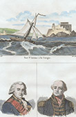 A Coru�a - Fortress San Ant�n (Spain) - Portraits - Rodney (1718-1792) - Gambier (1756-1833)