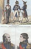 Prussian Costume - Military Uniform - Grenadier - Imperial Guard - Portraits - Bl�cher (1718-1792) - B�low (1755-1816)