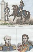 French Costume - Military Uniform - Cuirassier - Portraits - Gabriel de H�douville (1755-1825) - Fran�ois Antoine Lallemand (1774-1839)