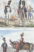 Soldat Napol�onien - Uniforme - Garde Imp�riale - Timbalier - Tambour � Cheval - Lancier