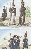 Troupe Portugaise - Uniforme Militaire - Artillerie Fran�aise - Garde Imp�riale
