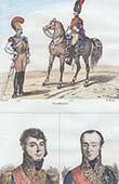 Napoleonic Soldier - Uniform - Carabineer - Carabinier - Cavalry (1812) - Portraits - Claparède (1770-1842) - Nicolas-Charles Oudinot (1767-1847)