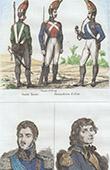 Arm�e Russe - Uniforme Militaire - Garde - Grenadier - Portraits - J�zef Antoni Poniatowski (1763-1813) - Tadeusz Kościuszko (1746-1817)