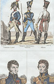 Arm�e Autrichienne - Uniforme Militaire - Cannonier - Officier - Portraits - Letort (1773-1815) - Lefebvre Desnouettes (1773-1822)
